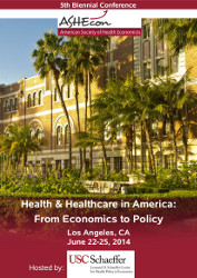[ASHE Fifth Biennial Health Care in America Conference]